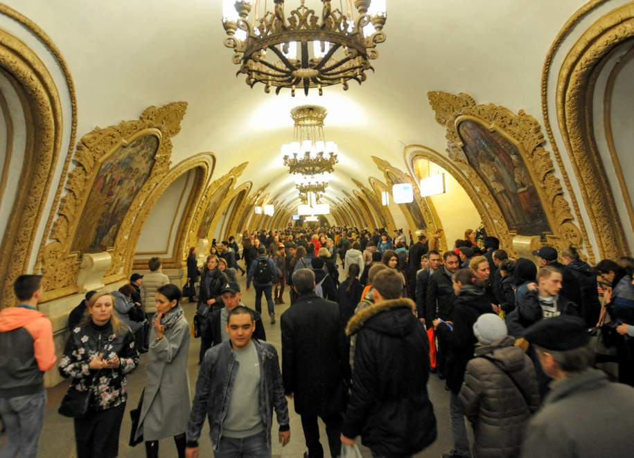 Московский метрополитен подготовился к работе в зимний период