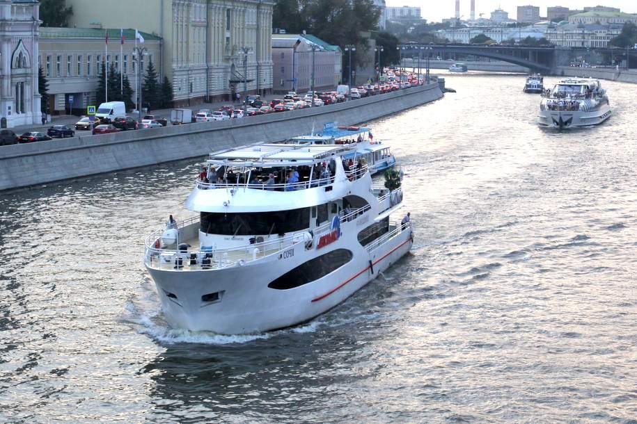 Зимние экскурсии по Москве-реке начнутся 9 ноября