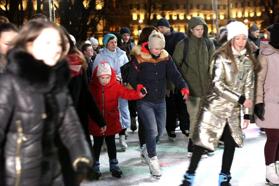 В центре Москвы появятся 240 объектов зимнего отдыха