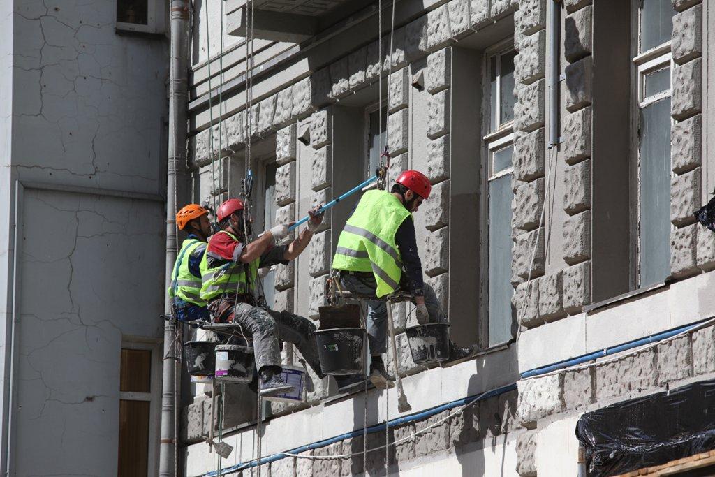 В центре Москвы отремонтированы фасады более 700 зданий