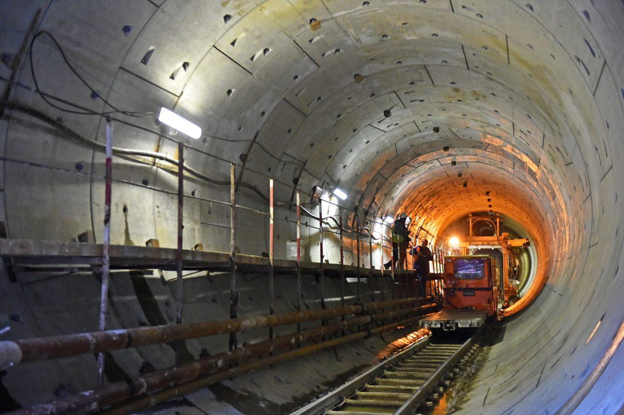 На ТПК началось строительство ещё одного тоннеля