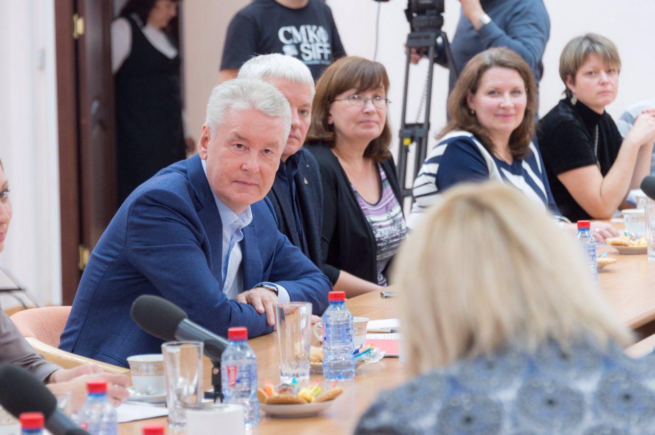 Мэр Москвы по поручению Владимира Путина лично встретился с горожанами