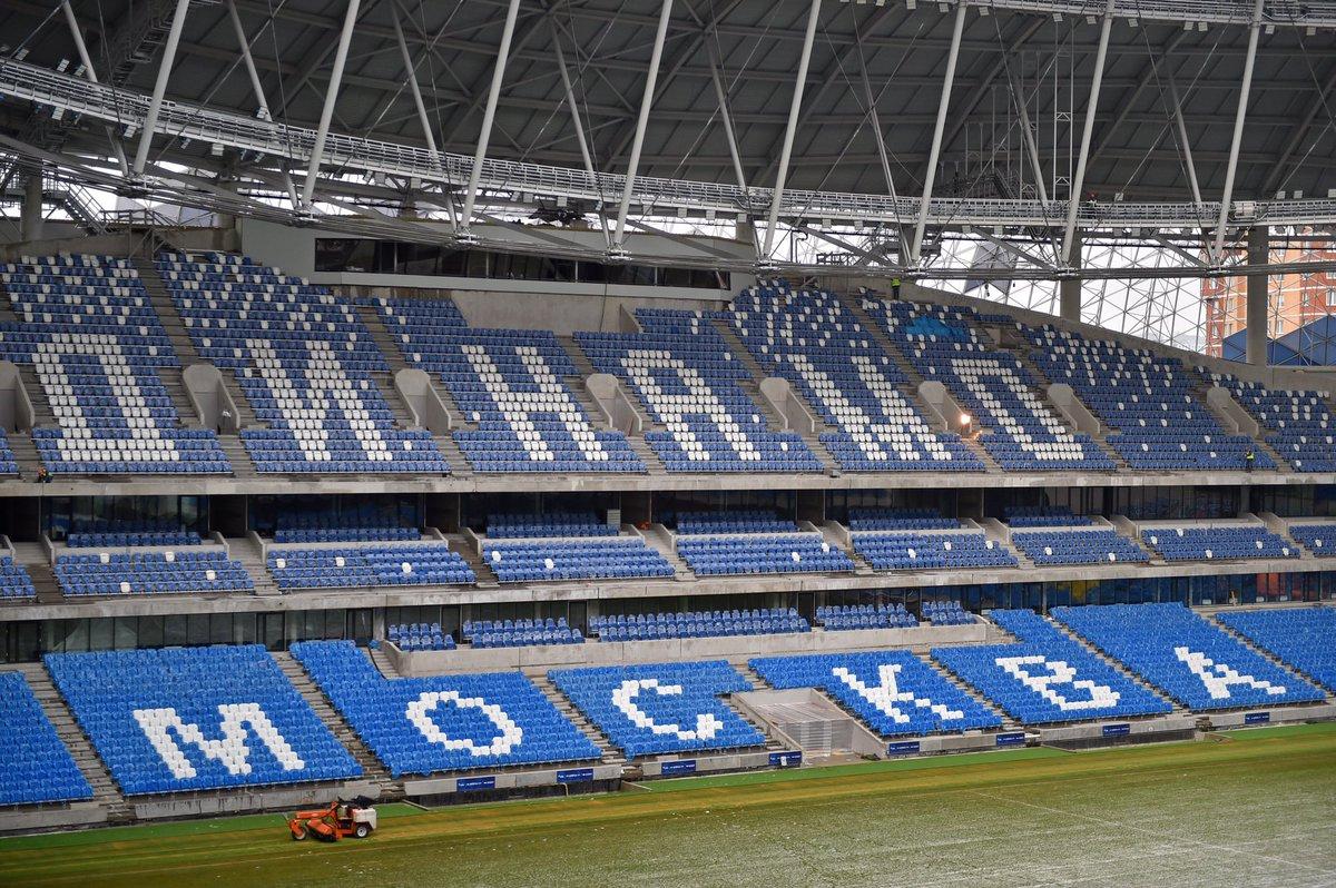 Мэр Москвы показал ход реконструкции стадиона «Динамо»