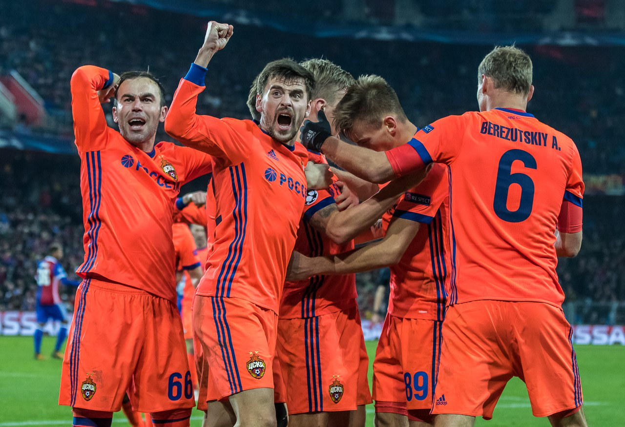 ЦСКА — единственный из российских клубов одержал победу в еврокубках