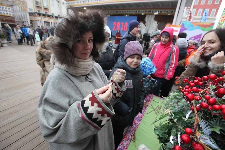 Фестиваль «День народного единства» собрал 1,5 млн посетителей