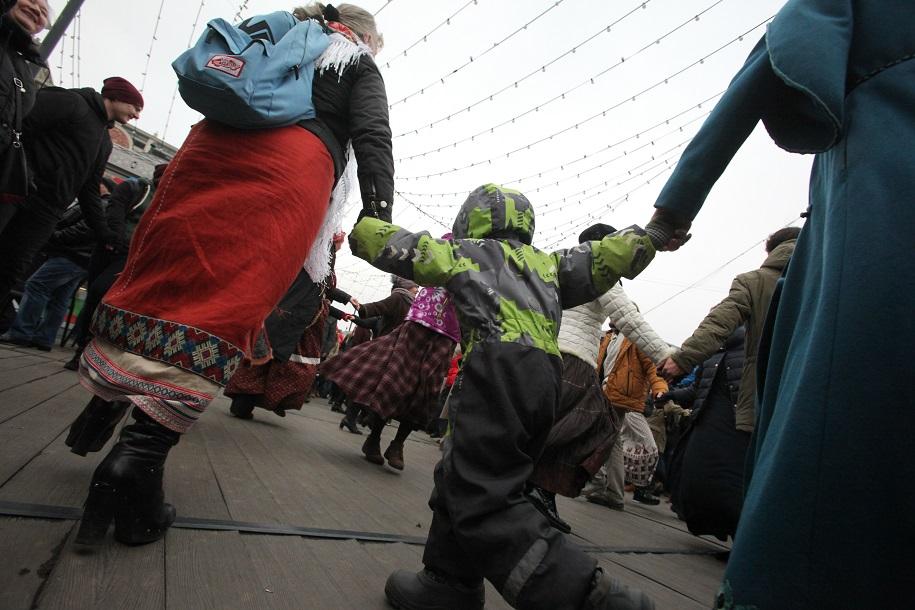 В Москве началось празднование Дня народного единства
