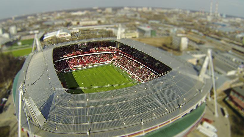 На стадионе ФК «Локомотив» установят раздвигающуюся крышу