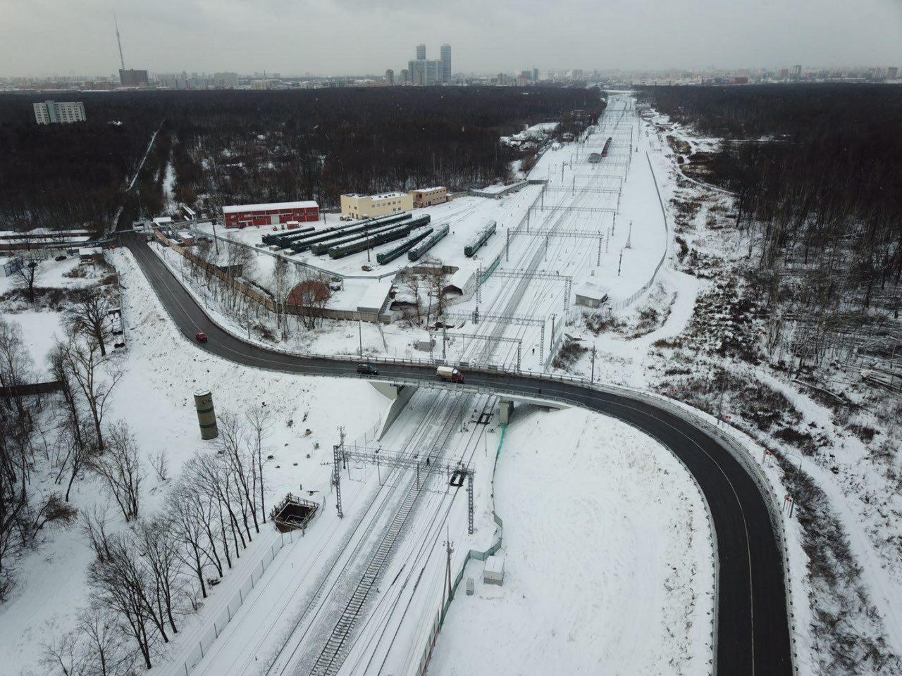 Богородский путепровод открыли после реконструкции