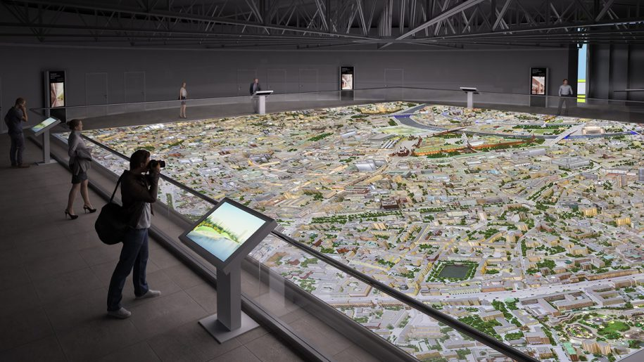 Вот сколько человек каждый месяц осматривают прототип столицы наВДНХ