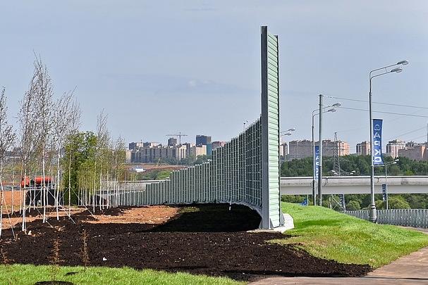 При реконструкции Калужского шоссе установят более 7,7 км экранов шумозащиты