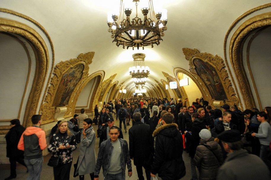 Столичное метро перешло на усиленный режим работы