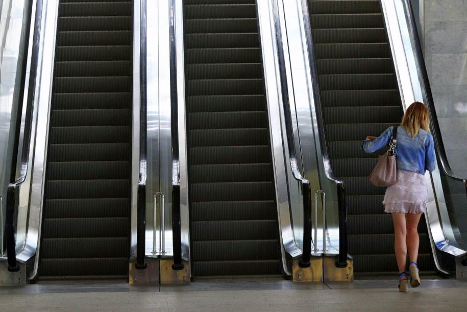 Эскалатор на станции «Таганская» открылся после ремонта