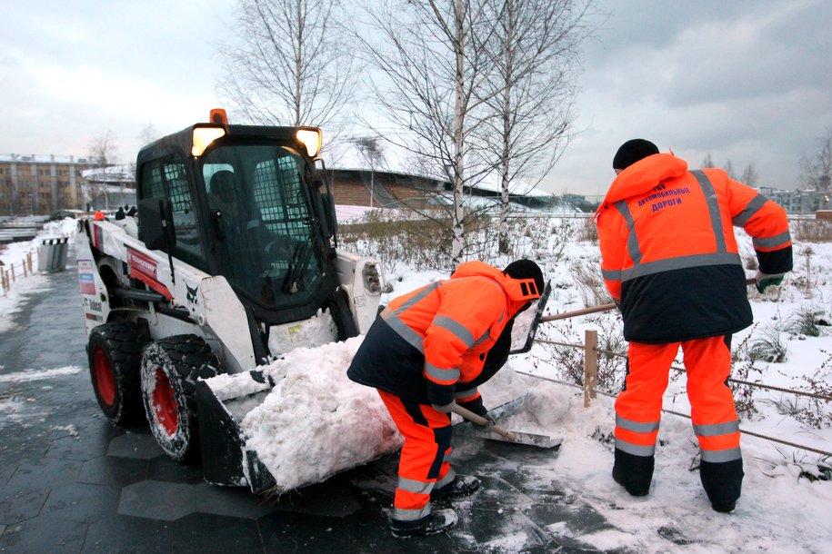 В Москве ожидается облачная погода, снег и до 12 градусов мороза