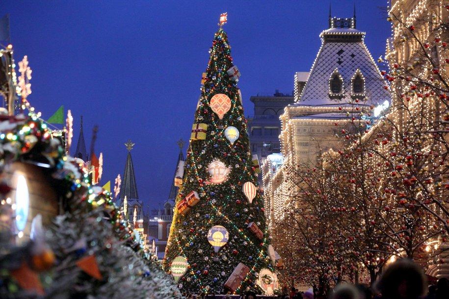 В Москве создали карту новогодних маршрутов по музеям
