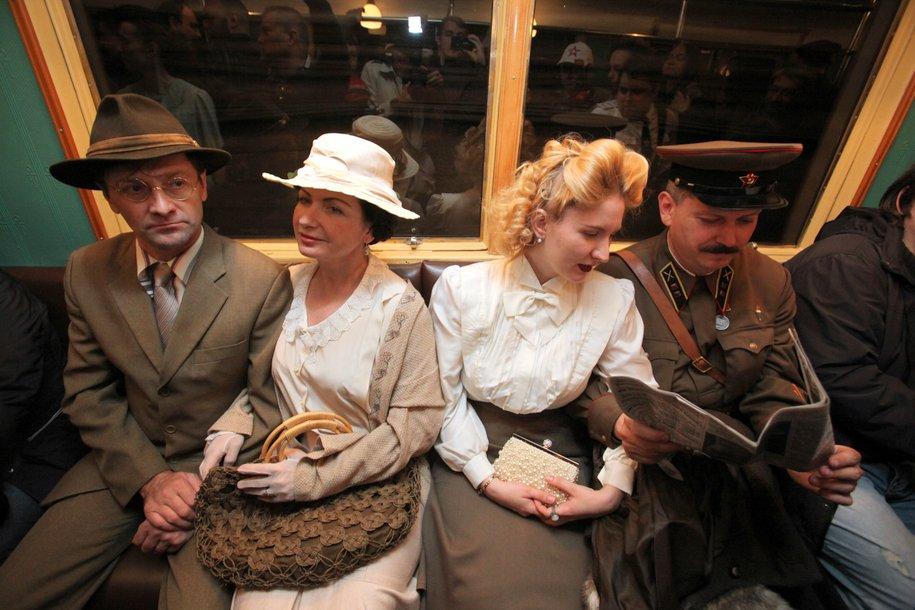 Экскурсия на ретропоезде пройдет для участников акции «Ночь в метро»