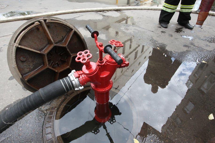 На севере Москвы ликвидирован пожар площадью 200 кв. м