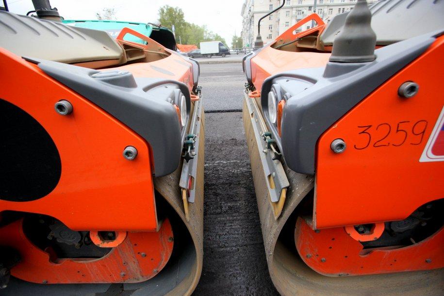 Три путепровода имост наКалужском шоссе откроют зимой
