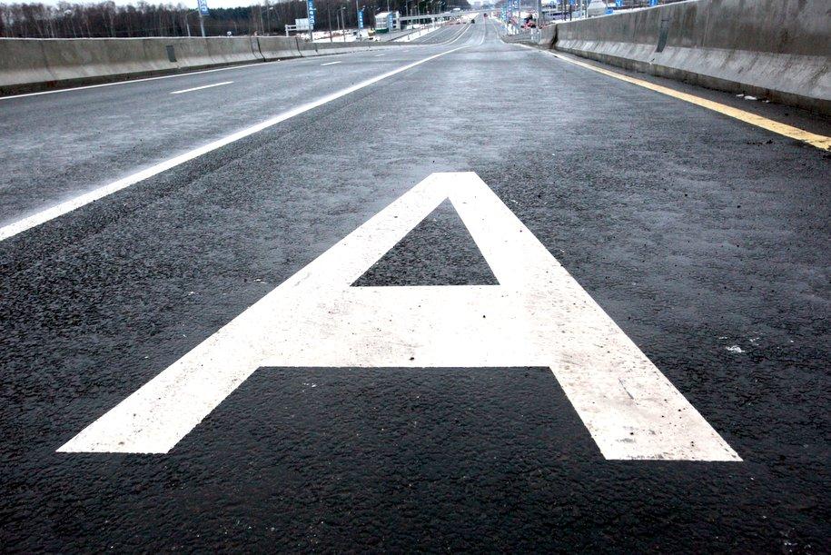 Загруженность столичных дорог оценивается в 1 балл