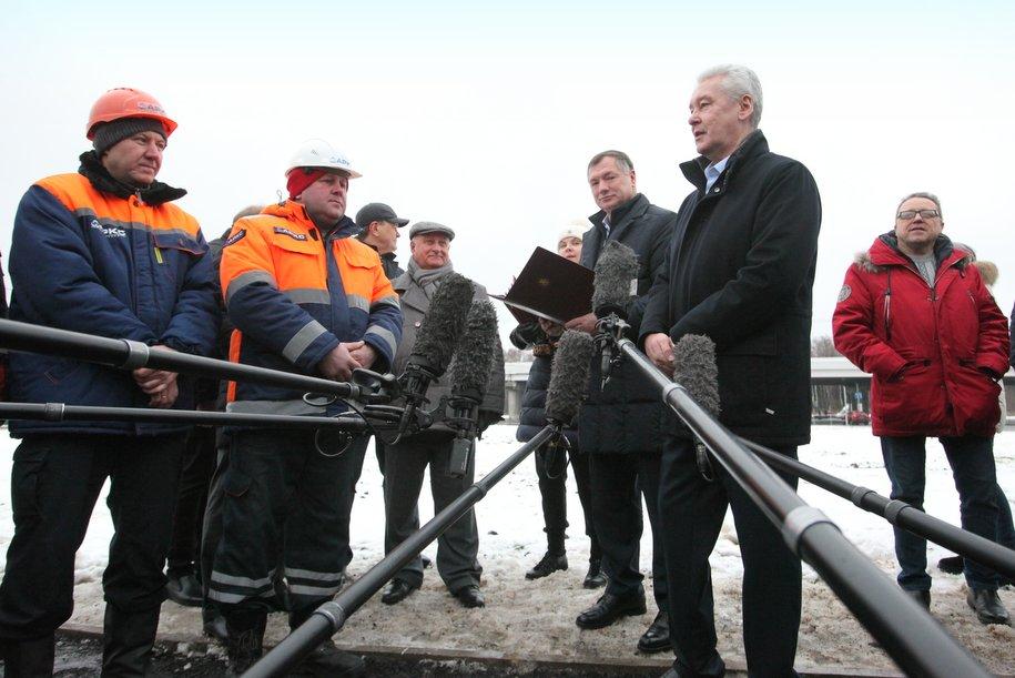 Москва продолжает функционировать даже при самом сильном снегопаде — Собянин
