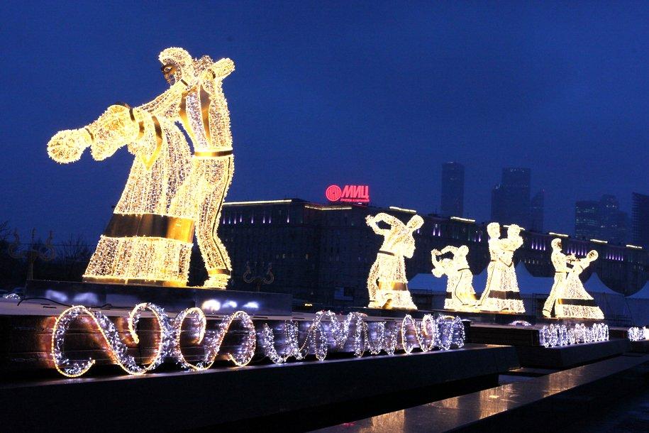 В Парке Победы выступит оркестр Дедов Морозов 1-3 января
