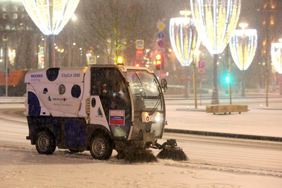 Снегопад принес почти 15% месячной нормы осадков