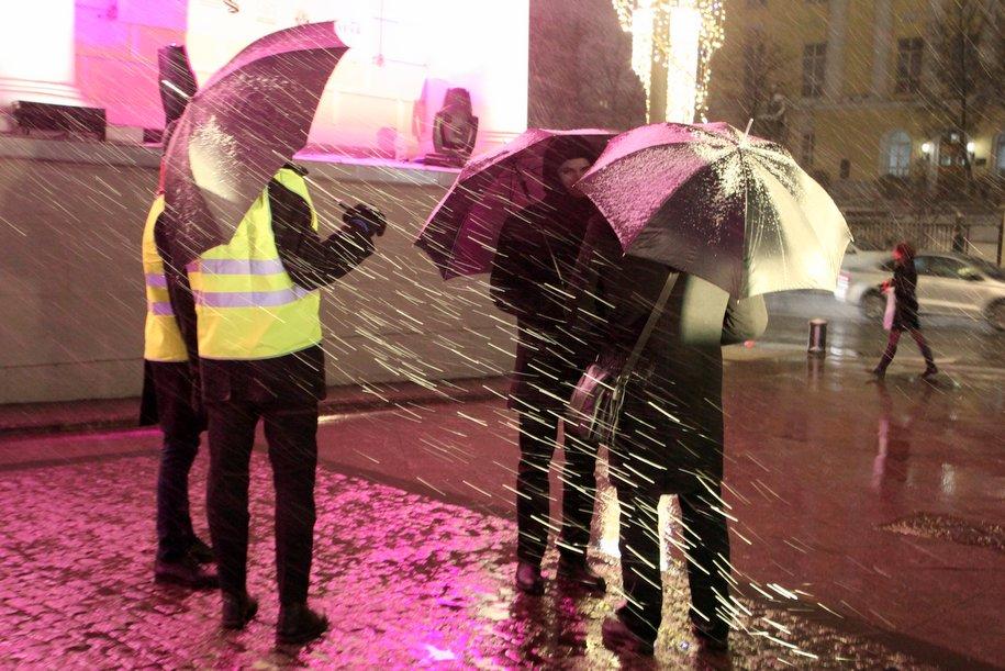 В ночь на понедельник на Москву обрушится снегопад