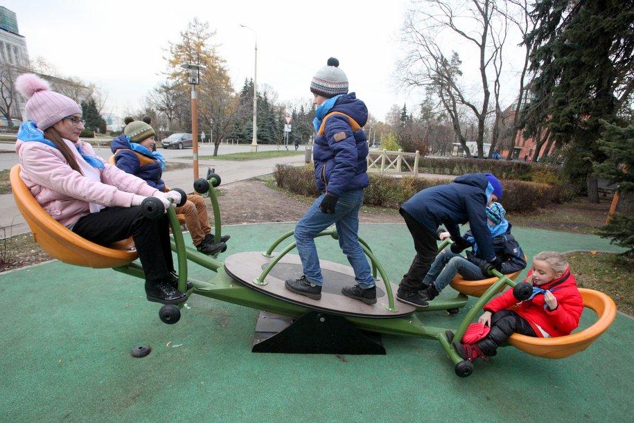 Детские площадки откроются 4 декабря на шести вокзалах Москвы