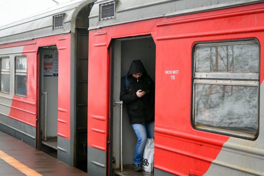 На Киевском направлении МЖД задержан электропоезд Москва — Калуга-1