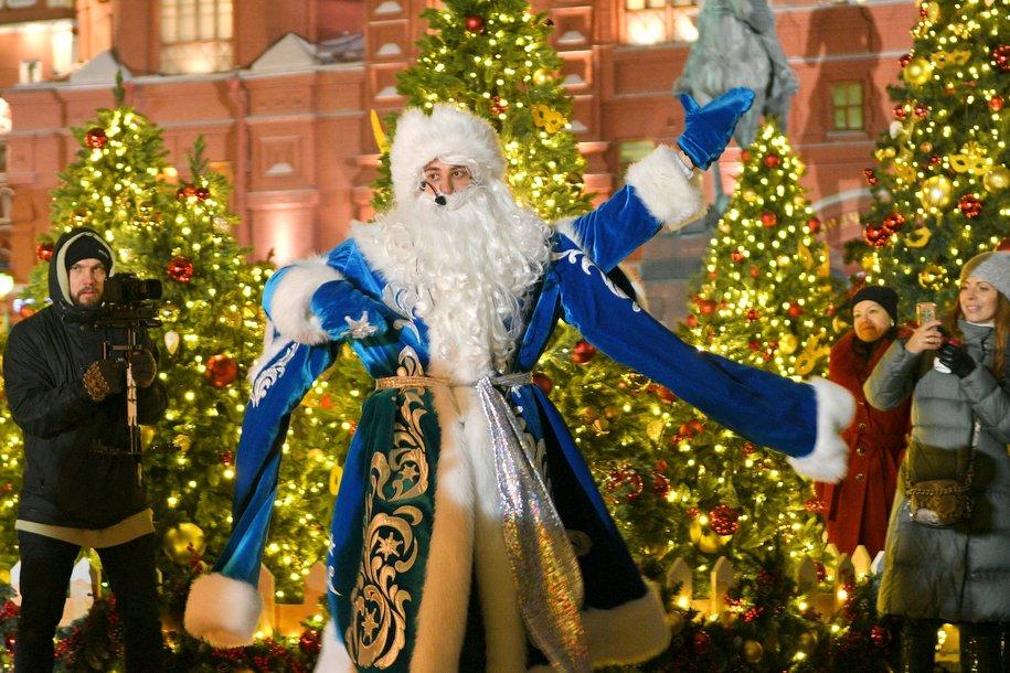 Дед Мороз из Великого Устюга прибудет 30 декабря на Манежную площадь