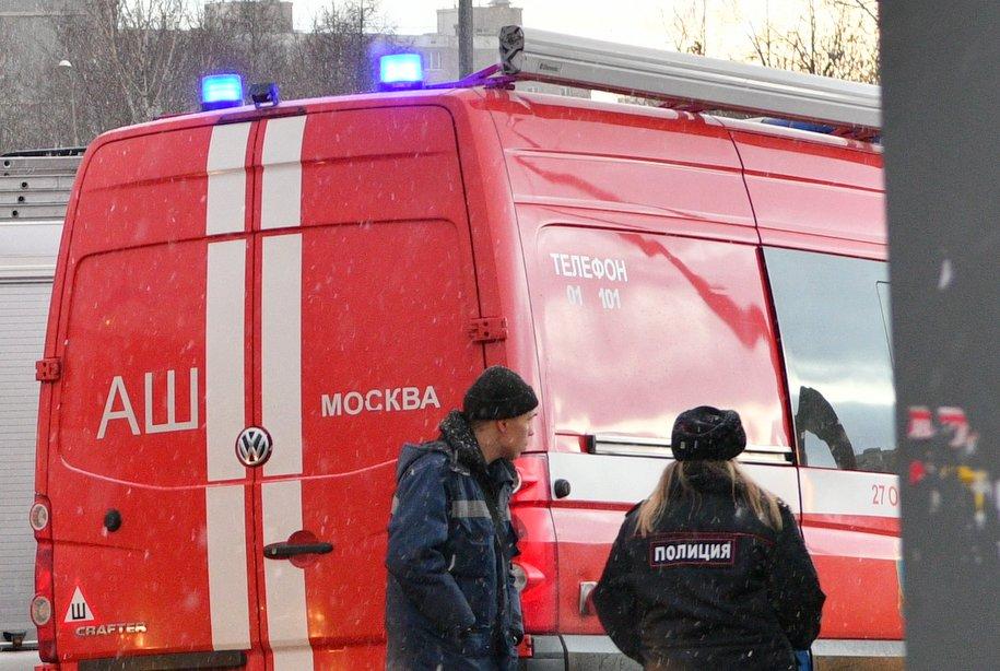 Около 50 человек эвакуировали из-за возгорания в кафе в Кузьминках