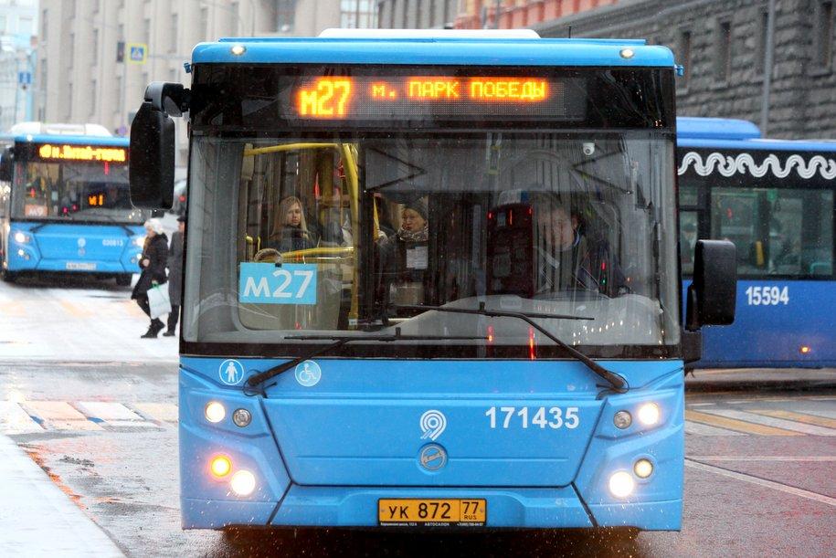Наземный транспорт столицы перевез рекордное число пассажиров