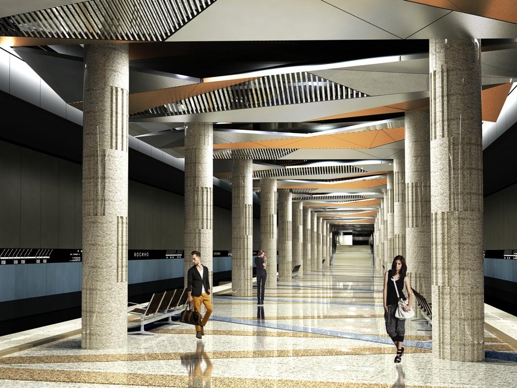 Тоннель до станции «Косино» построен