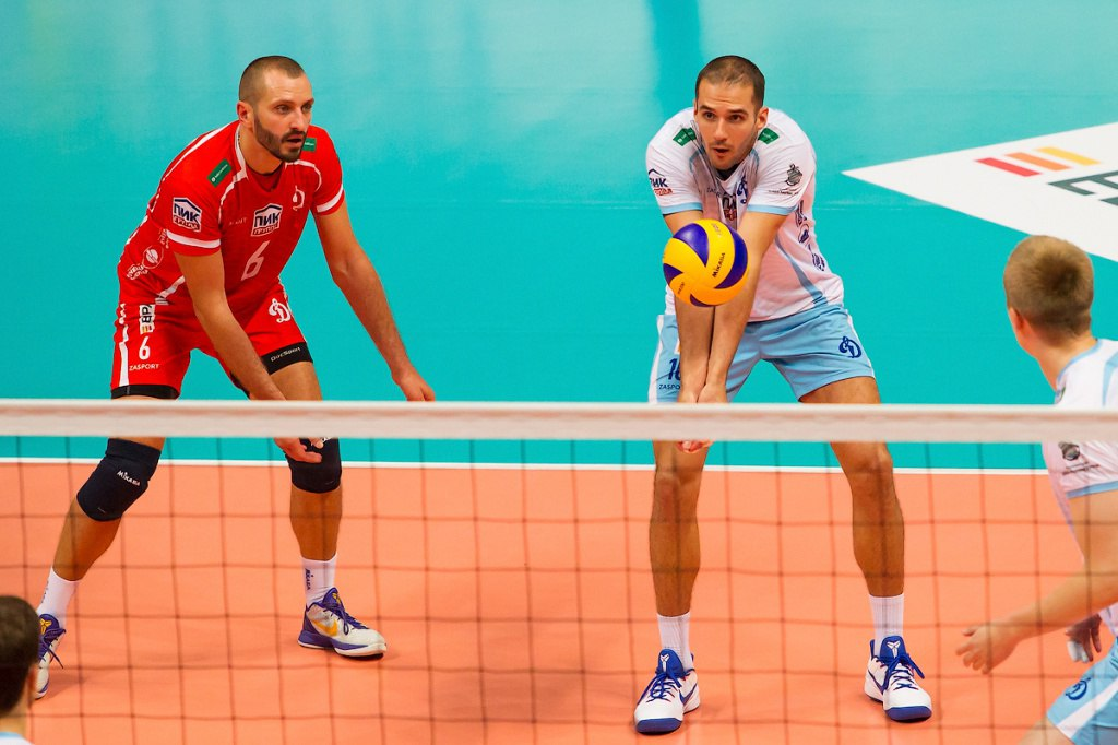 Московское «Динамо»: «сухое» поражение на старте волейбольной Лиги чемпионо