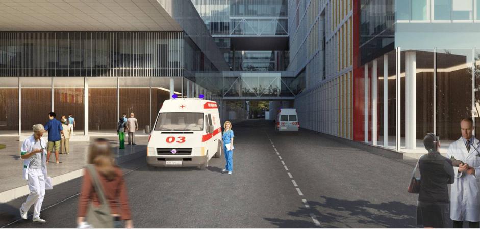 К больнице в Коммунарке построят дорогу