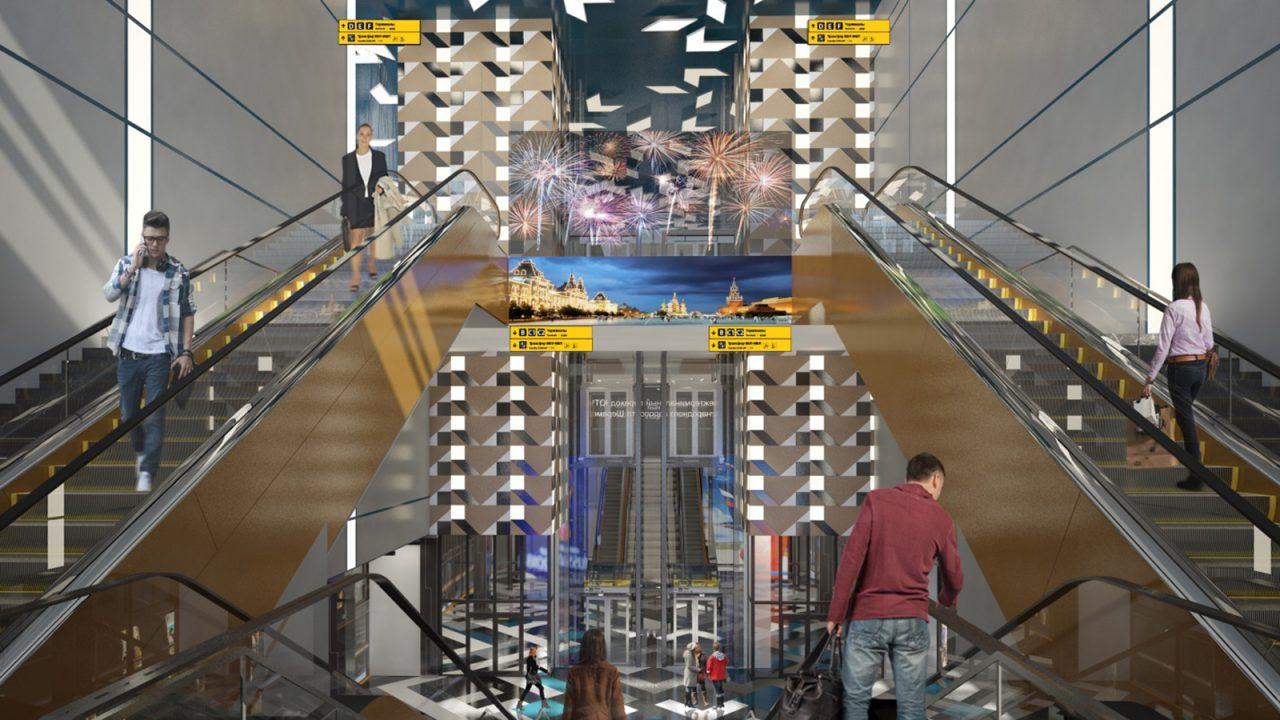 Терминалы аэропорта «Шереметьево» соединил подземный тоннель
