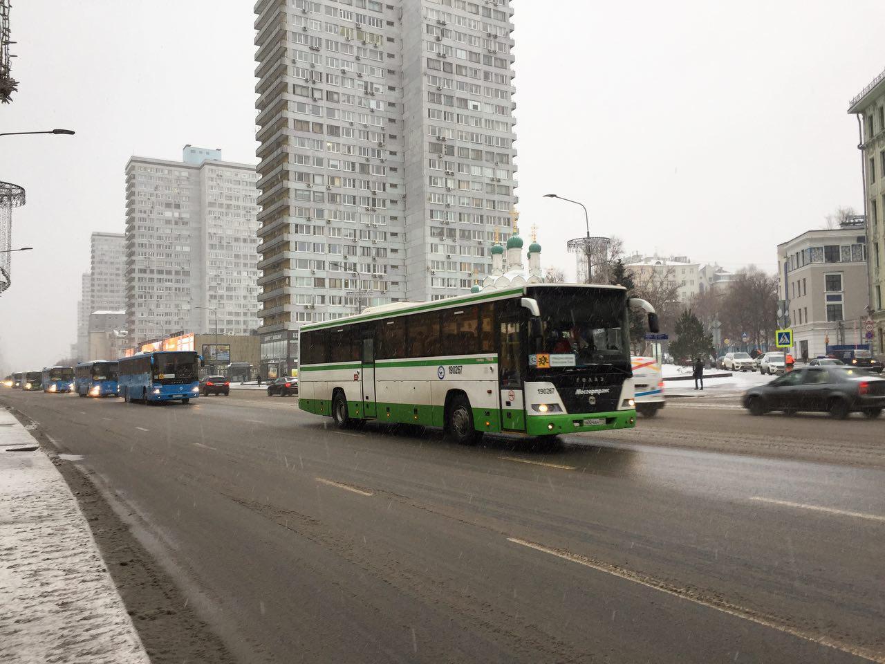 В центре Москвы частичные перекрытия дорог