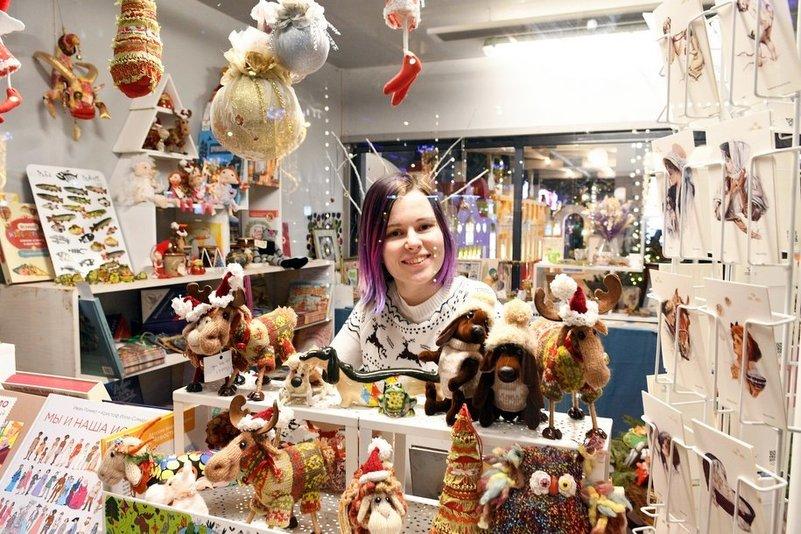 На фестивале «Путешествие в Рождество» было продано 150 тысяч елочных игрушек и украшений