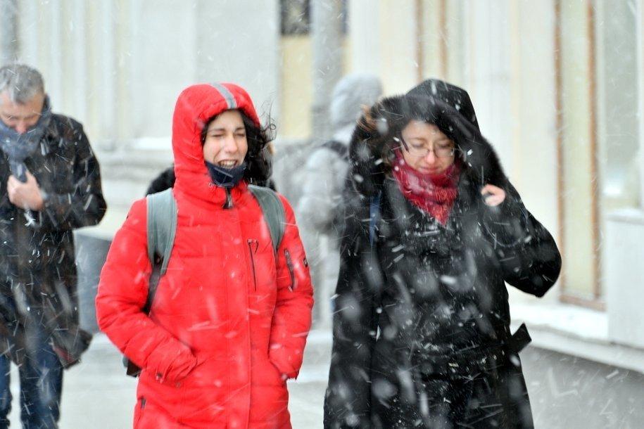 В первый рабочий день москвичей ожидает морозная погода