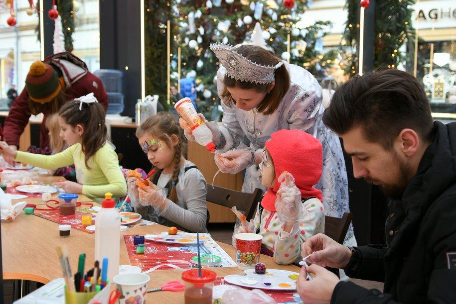 Темой Рождества в саду «Эрмитаж» станет сказка «Двенадцать месяцев»