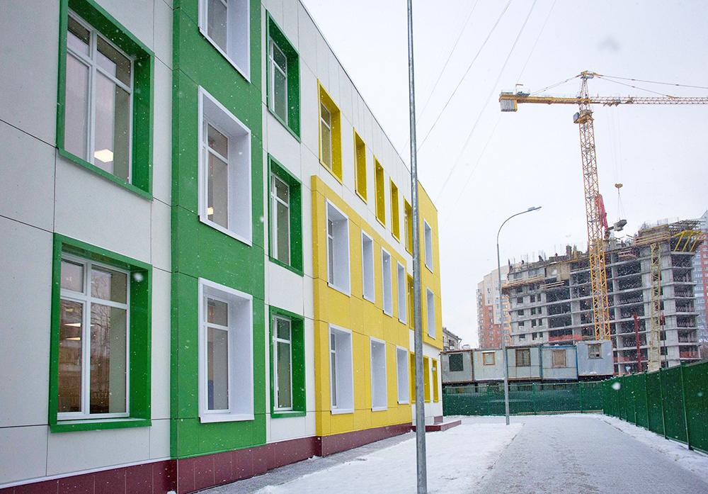 Школу и детский сад построят в районе Северный