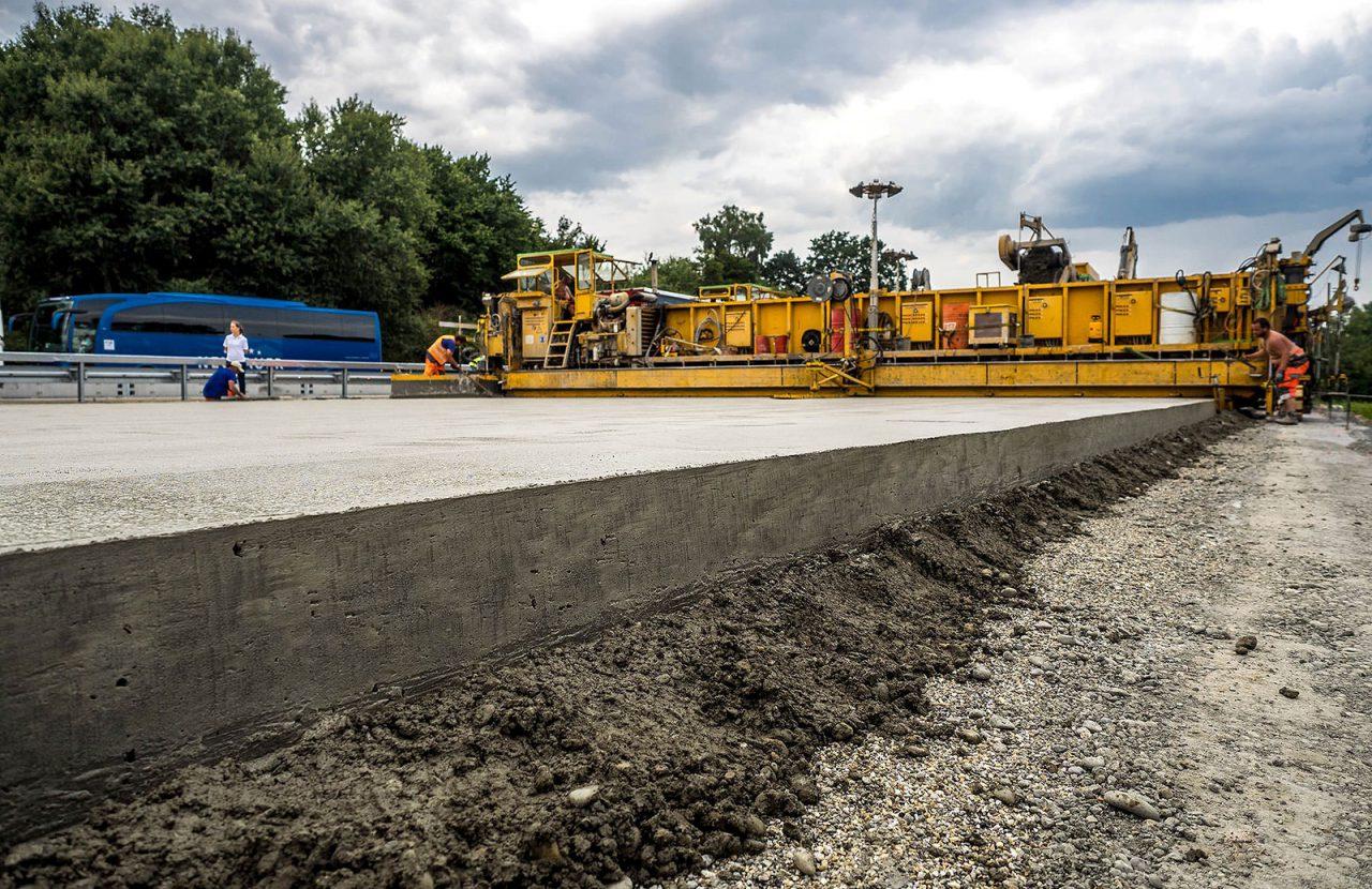В России создана ассоциация бетонных дорог
