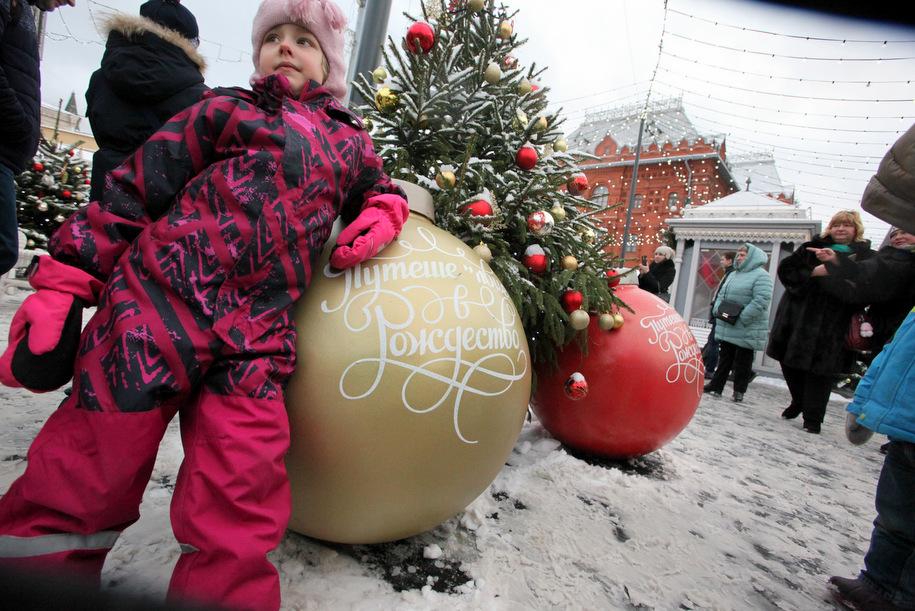 Фестиваль «Путешествие в Рождество» принес столице почти 14 млрд рублей