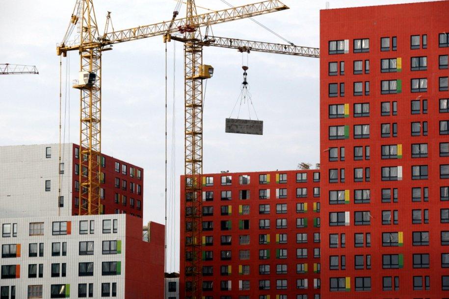 В Москве строится более 120 домов новых серий