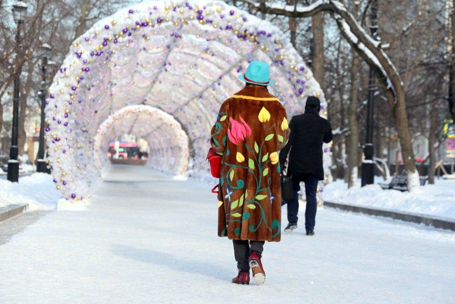 В столице России объявлен «желтый» уровень опасности