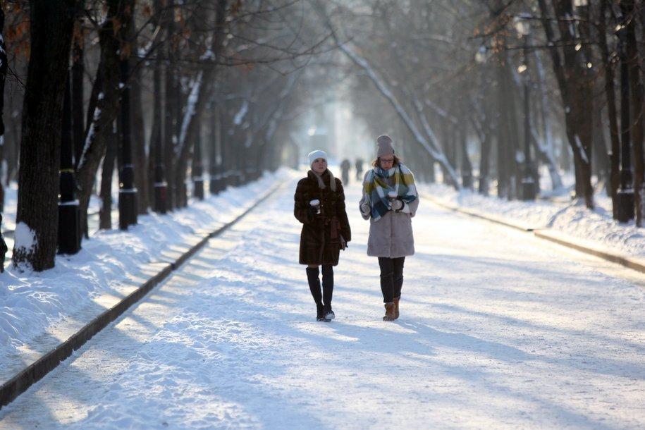 Февраль в Москве начнется с морозов