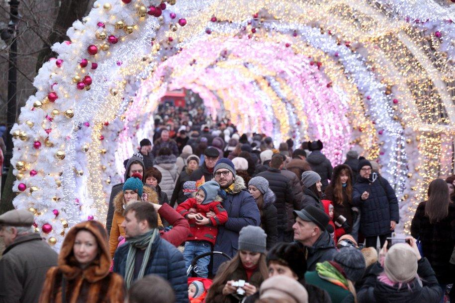 Праздничные мероприятия в Москве посетили 10,5 млн человек
