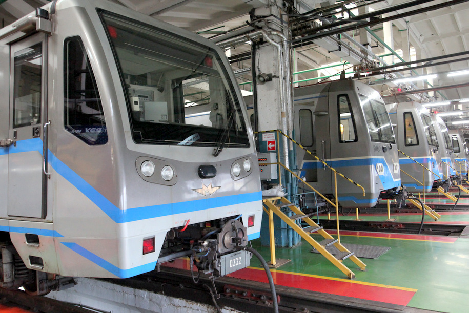 В 2018 году откроют три электродепо для поездов метро