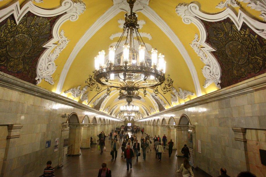 В столичном метро впервые прошла экскурсия для маломобильных граждан