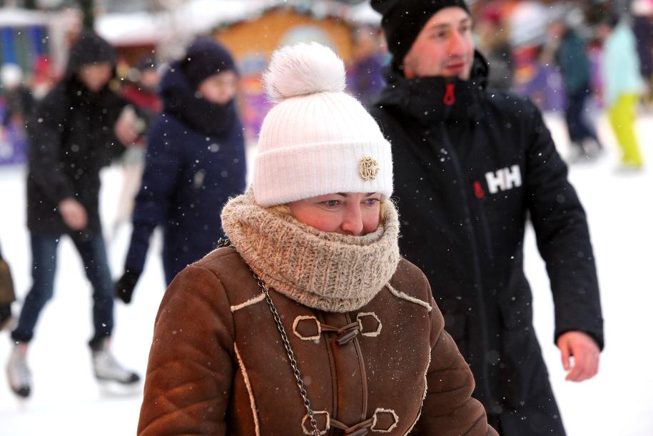 Понедельник в столице стал самым холодным днем с начала года