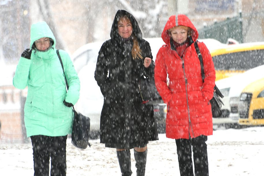 За сутки в столице выпадет до 18 см снега